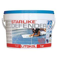 затирка LitoCHROM Starlike Defender C.560  1,0 кг  GRIGIO PORTLAND