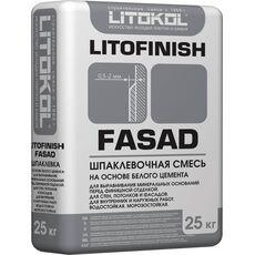 кл Litofinish Fasad - цементная шпаклевочная смесь  25кг