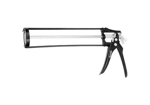Пистолет для герметика, 310 мл, скелетный, усиленный с фиксатором