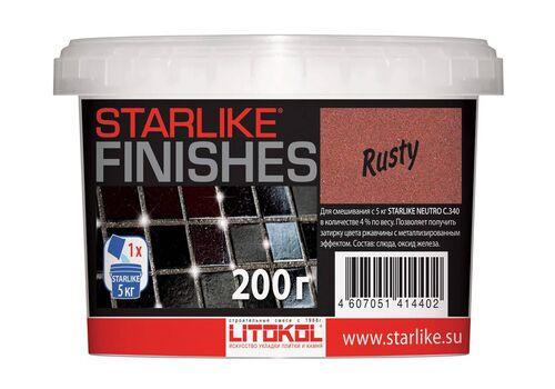 добавка RUSTY  для Starlike красный металлик 200гр