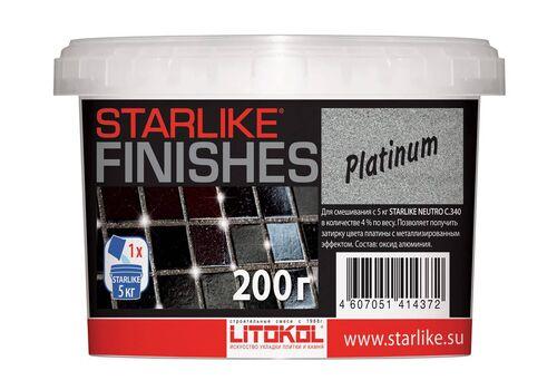 добавка PLATINUM для Starlike платинового цвета 200гр