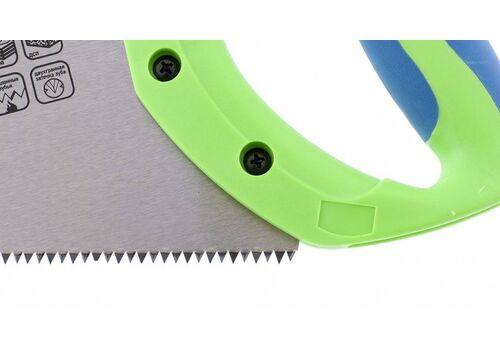 Ножовка по дереву Зубец 350мм 7-8 TPI pe, 2D каленый, защит. покр. Сибртех