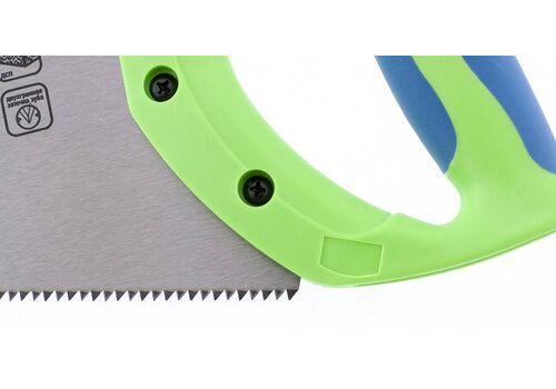 Ножовка по дереву Зубец 500мм 7-8 TPI pe, 2D каленый, 2-комп рукоятка Сибртех