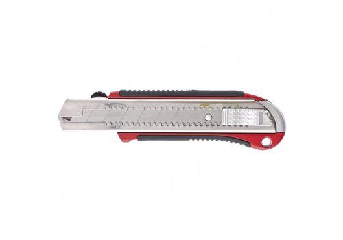 Нож 25 мм, выдвижное лезвие, усиленная метал. направляющая
