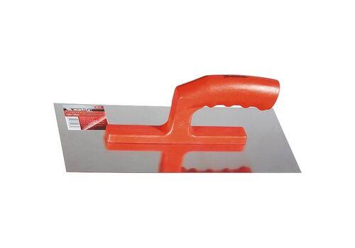 Гладилка стальная, 280*130 мм, зеркальная полировка, пластм. ручка